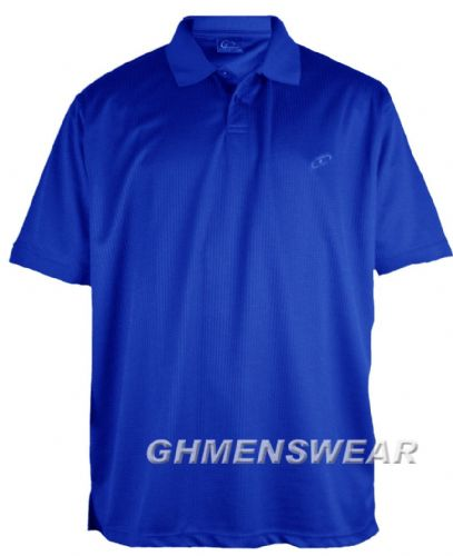 Mesh Polo Shirt ROYAL BLUE